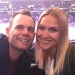 Brendan Steele's wife Anastassia Steele