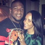 Dashon Goldson's girlfriend Ashley North