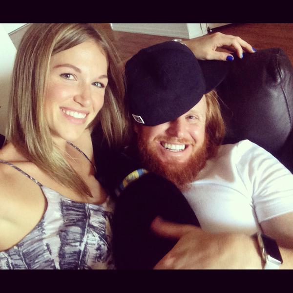 Justin Turner's wife Kourtney Elizabeth