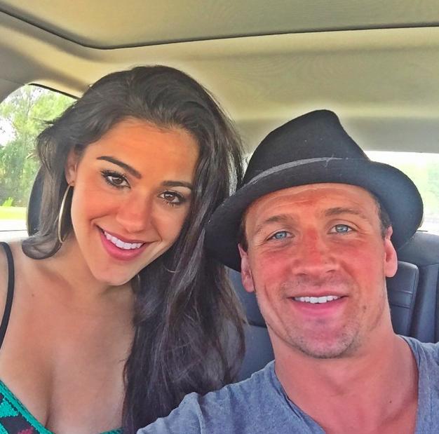 Ryan lochte and girlfriend