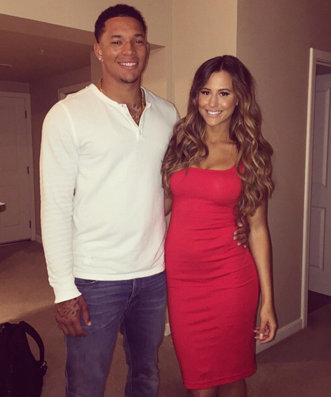 Taijuan Walker's girlfriend Heather Restrepo