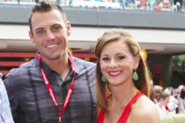 Peter Bourjos' wife Ashley Bourjos - STLMag