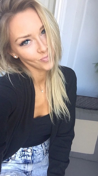 Rob Gronkowski's girlfriend Camille Kostek