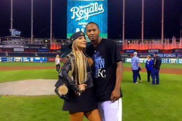 Alcides Escobar's wife Francesca Escobar -Instagram