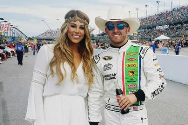 Austin Dillon's girlfriend Whitney Ward-Instagram
