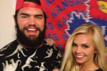 Ben Heeney's girlfriend Taylor Alderson- Twitter