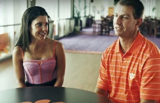 Dabo Swinney's wife Kathleen Swinney - PlayerWives.com
