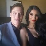 Jonas Jerebko's girlfriend Johanna Lundback - Instagram
