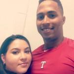 Leonys Martin's wife Yaimira Martin -Instagram