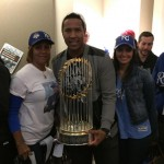Salvador Perez's girlfriend Marig Ruiz - Instagram