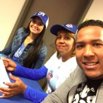 Salvador Perez's girlfriend Marig Ruiz-Instagram
