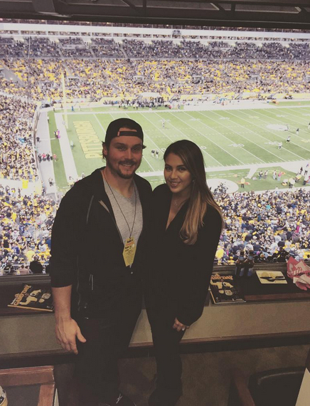 Travis Snider's wife Isabel Snider