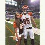 Tyler Eifert's girlfriend Rachael Kimack - Twitter