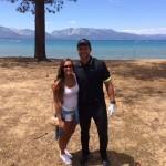 Tyler Eifert's girlfriend Rachael Kimack- Twitter