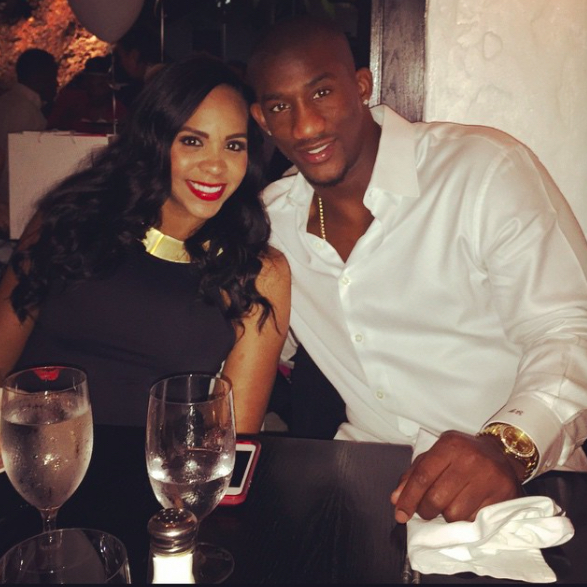 Antrel Rolle's girlfriend Valene