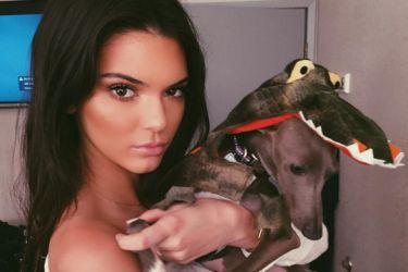 D'Angelo Russell's girlfriend Kendall Jenner - Instagram