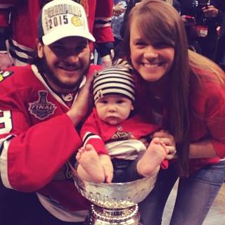 Dan Carcillo's ​girlfriend Ela Bulawa - Facebook