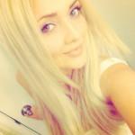 Dmitrij Jaskin's girlfriend Nadiya Volskaya - Twitter