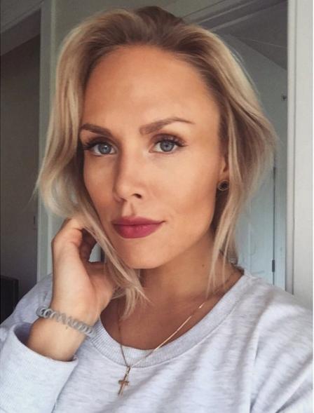 Photo of Jori Lehtera's wife Lotta Lehtera
