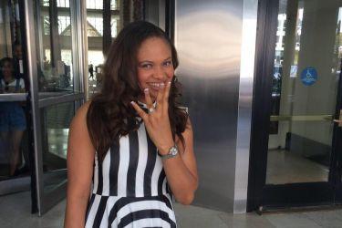 Sam Acho's wife Ngozo Acho - Facebook