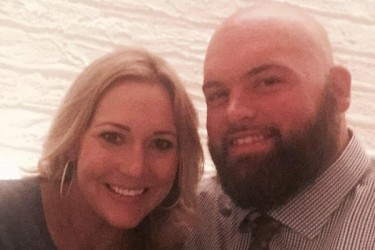 Andrew Whitworth's wife Melissa Whitworth - Twitter