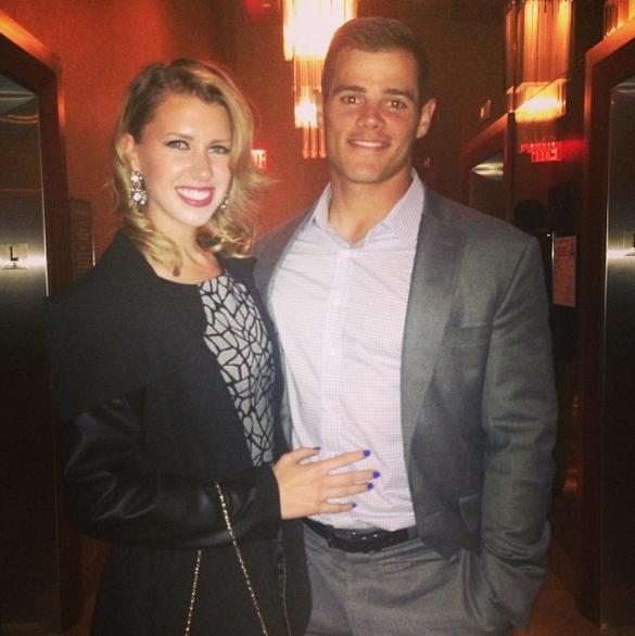 Anthony Recker's wife Kelly Recker