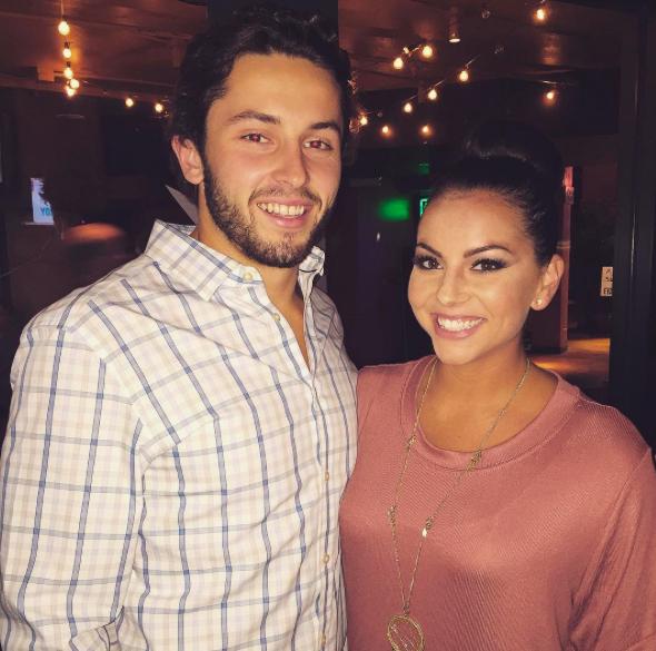 Baker Mayfield's girlfriend Baillie Burmaster-Instagram