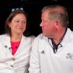 Brian Kelly's wife Paqui Kelly - KellyCaresFoundation