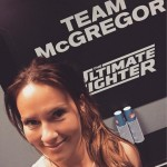 Connor McGregor's girlfriend Dee Devlin- Twitter