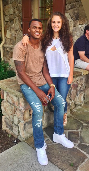 DeShaun Watson's girlfriend Dallas Robson-Instagram