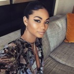 Jordan Clarkson's girlfriend Chanel Iman - Instagram