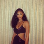 Jordan Clarkson's girlfriend Chanel Iman-Instagram