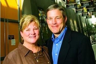 Kirk Ferentz's wife Mary Ferentz - uifoundation