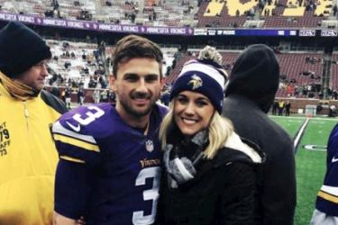 Blair Walsh's wife Sarah Chaffee