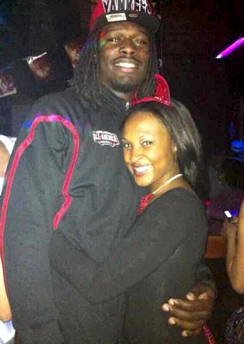 Jadeveon Clowney's girlfriend Najah Re Martin