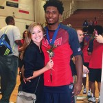 Justise Winslow's girlfriend Abby Avery- Instagram
