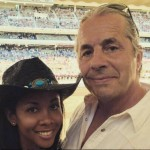 Bret Hart's wife Stephanie Hart-Instagram
