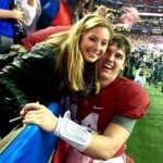 Jake Coker's girlfriend Sarah Jeffries- Twitter