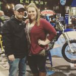 Justin Allgaier's wife Ashley Allgaier - Instagram
