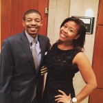 Muggsy Bogues' wife Kim Bogues