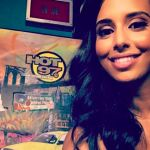 Colin Kaepernick's Girlfriend Nessa Diab -Instagram