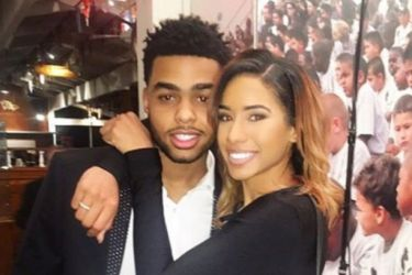 Dangelo Russell's girlfriend Niki Withers - Instagram