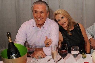 Pat Riley's wife Chris Rodstrom Riley -PlayerWags