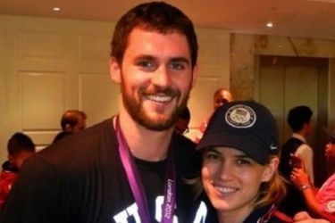 Kevin Love's girlfriend Cody Horn - Twitter
