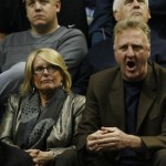 Larry Bird's wife Dinah Mattingly