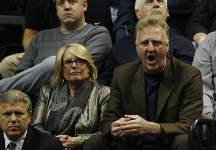 Larry Bird S Wife Dinah Mattingly Playerwives Com