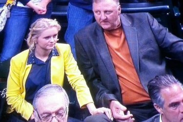 Larry Bird's daughter Mariah Bird - BustedCoverage