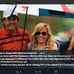 Phil Mickelson's wife Amy Mickelson-Twitter