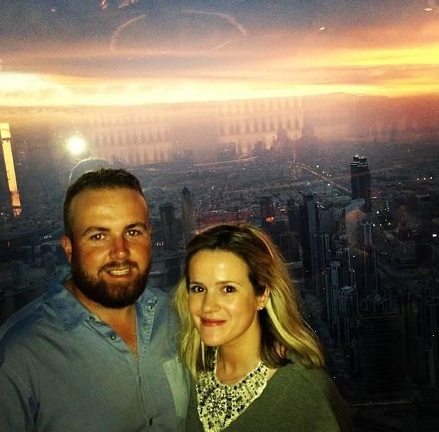 Shane Lowry's wife Wendy Honner