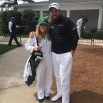 Shane Lowry's fiancee Wendy Iris Honner -Twitter